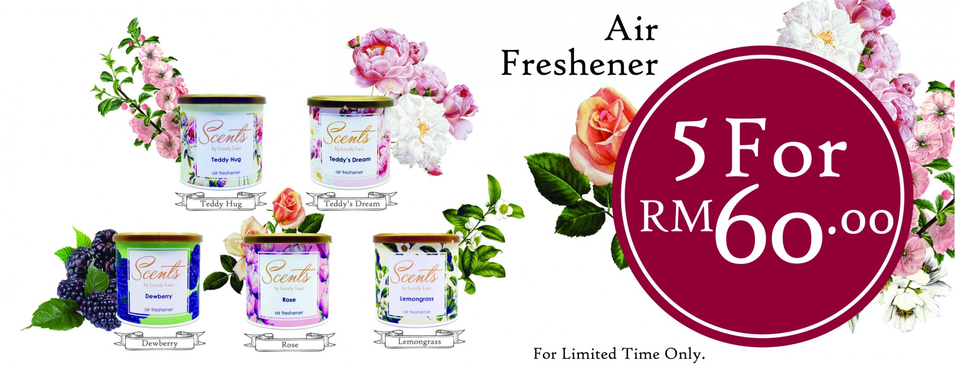 Scents by Lovely Lace