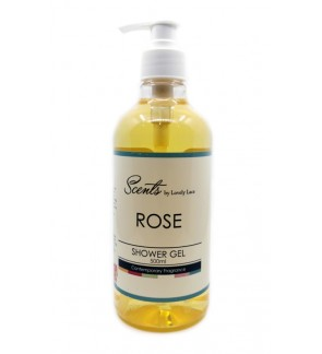 Scents 500ml Shower Gel - Rose
