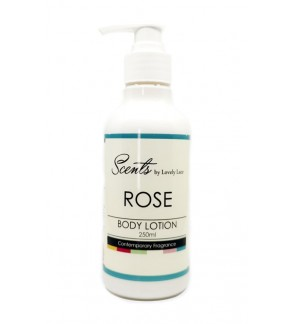 Scents 250ml Body Lotion - Rose