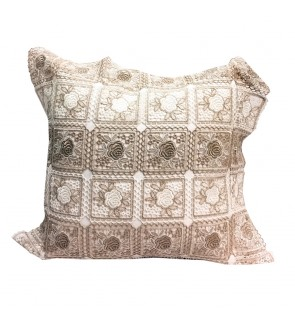 Lovely Lace Cushion with Insert-Crochet Lace
