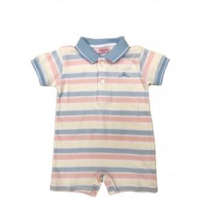 Baby Polo Short Sleeve Polo Romper