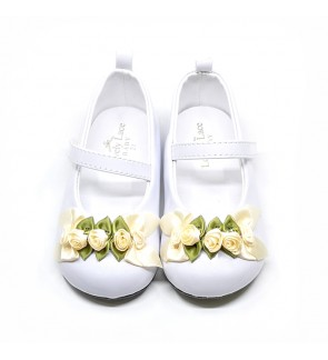 Girl White Shoes Size 19-28