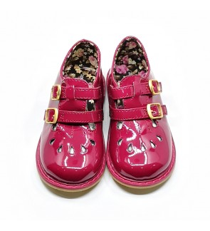 Girl Red Shoes Size 21-28