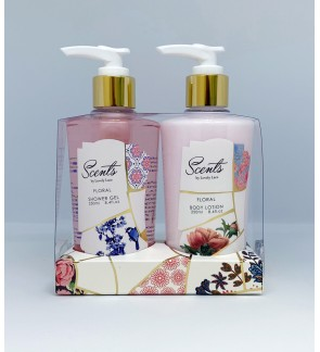 250ml Floral Shower Gel & Body Lotion Set