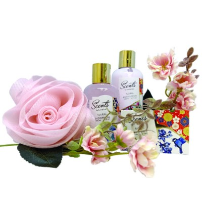 180ml Floral Shower Gel & Body Lotion Set