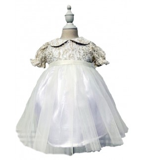 Baby Lace Short Sleeve Dress