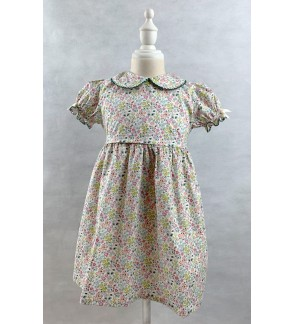 Toddler Short Sleeve Dress (1-5 Years Old)