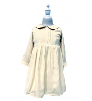 Toddler Long Sleeve Yellow Dress (1-5 Years Old)
