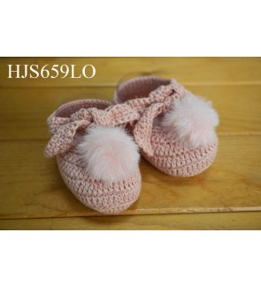 New Born Baby Crochet Booties (Hand Made)