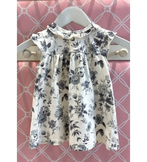 Baby Sleeveless Dress with Panty (0 - 12 Months)