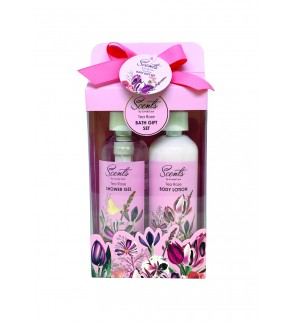190ml Tea Rose Shower Gel & Body Lotion Set
