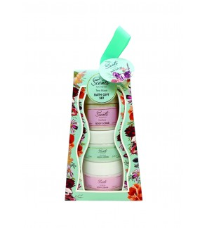 Tea Rose Bath Travel Set