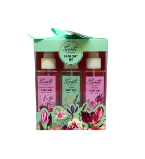 140ml Body Mist Travel Set (3 in 1)