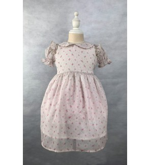 Toddler Short Sleeve Dress (1-3 Years Old)