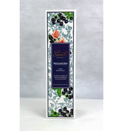 200ml Reed Diffuser - Blackcurrant Rose