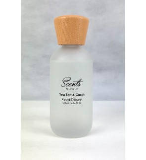 200ml Reed Diffuser - Sea Salt & Cassis
