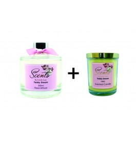 Diffuser + Scented Candle Set (RM69.90)