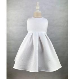Toddler Sleeveless White Dress (1-5 Years Old)