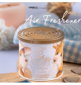 Scents of Happyness - Limited Editions. Teddy's Dream You & Me Air Freshener.